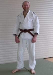 Mike Forster Judo 1. Kyu